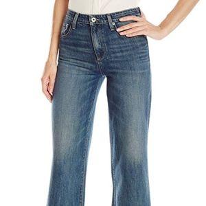Lucky Brand Wide Leg Crop Jean Size 26